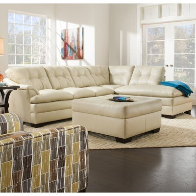Latitude Run Simmons Upholstery Ellsworth Chaise Sectional