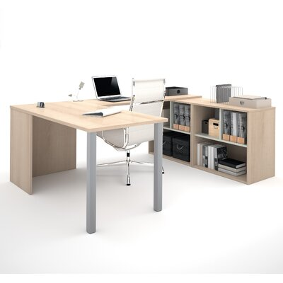 Latitude Run Luther 1 Piece U-Shaped Desk..