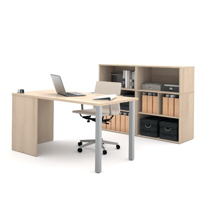 Latitude Run Luther 2 Piece Standard Desk..