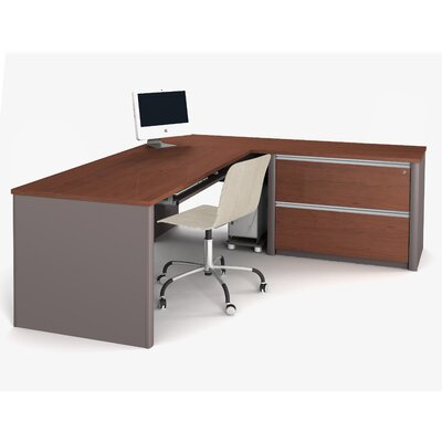 Latitude Run Karla Computer Desk with Pedestal