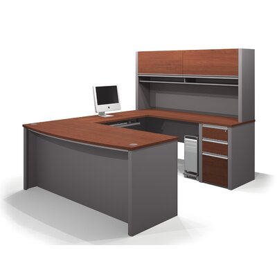 Latitude Run Karla 2 Piece U-shaped Desk Office Suite
