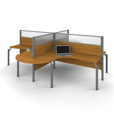 Latitude Run Ralph 4 L-Desk Workstation