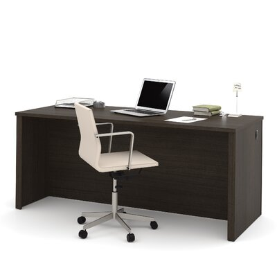 Latitude Run Karyn Executive Desk with Credenza and Hutch