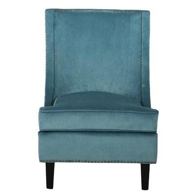 Latitude Run Gertrude Velvet Side Chair