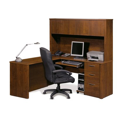Latitude Run Witchel L-Shape Desk Office ..