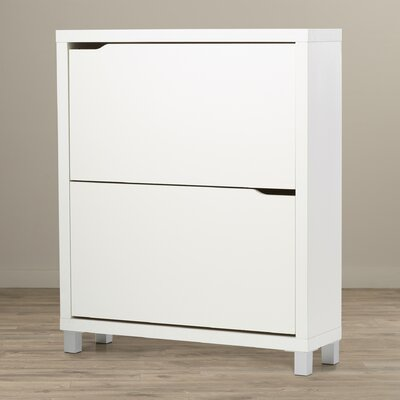 Exceptionnel Zipcode Design Muoi 12 Pair White Shoe Storage Cabinet U0026 Reviews | Wayfair