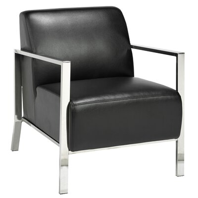 Home Gear Chinook Stainless Steel Frame Arm Chair