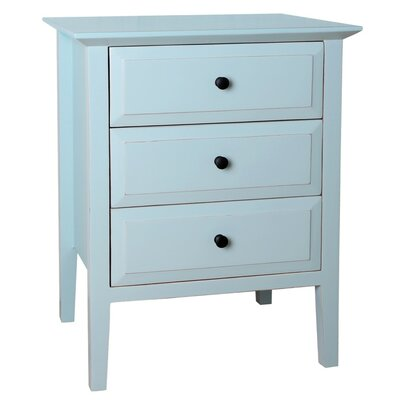 Porthos Home Gardenia 3 Drawer Nightstand