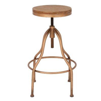 Urban Designs Jones Adjustable Height Bar Stool