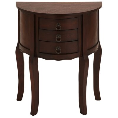 Urban Designs Anne Demilune End Table