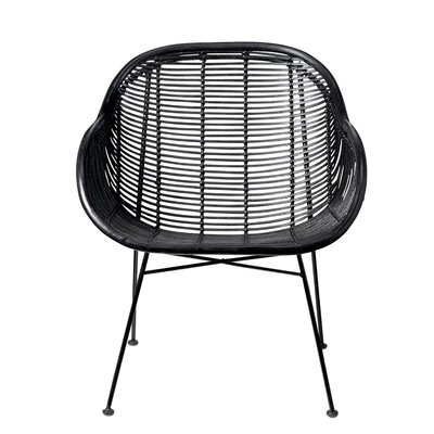 Bloomingville Braided Rattan Lounge Chair