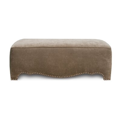 Uniquely Furnished Camel Ottoman
