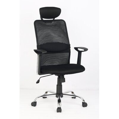 Wildon Home ® High-Back Mesh Task Chair with Arms