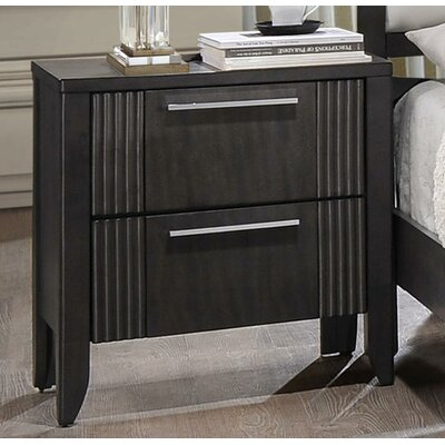 Wildon Home ® Grady 2 Drawer Nightstand