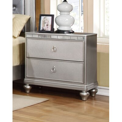 Wildon Home ® Cristo 2 Drawer Nightstand