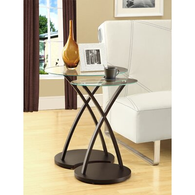 Wildon Home ® 2 Piece Nesting Table