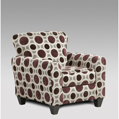 Wildon Home ? Chloe Mulberry Arm Chair