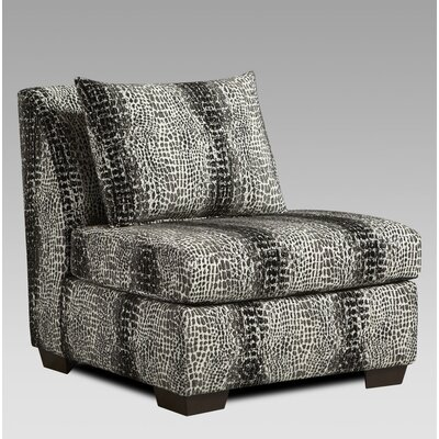 Wildon Home ? Carmelo Snakeskin Slipper Chair