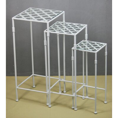 Drew DeRose Designs 3 Piece Nesting Tables