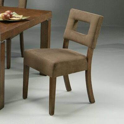 Impacterra Jakarta Dining Chair with Passion Suede Earth Fabric