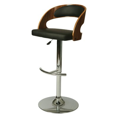 Impacterra Yreka Adjustable Height Swivel Bar Stool