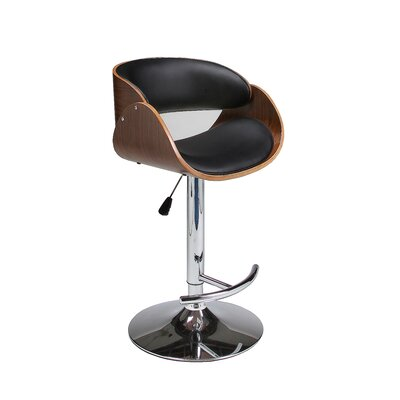 Impacterra Kaffina Adjustable Height Swivel Bar Stool