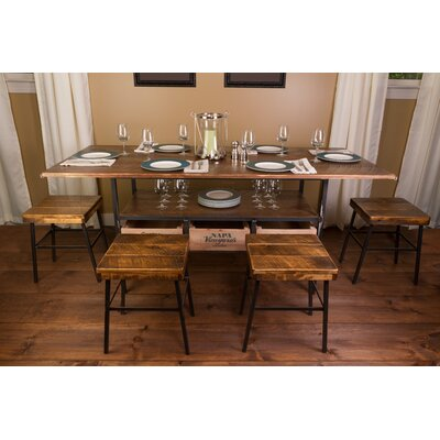 Vino Vintage Farm 7 Piece Dining Table