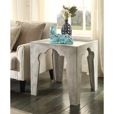 Hazelwood Home Jonathan End Table