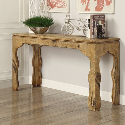 Hazelwood Home Maple Console Table