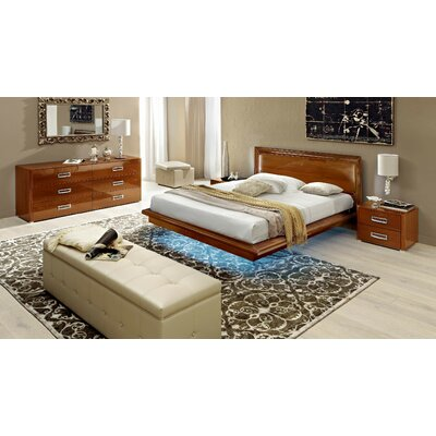 Noci Design Panel 3 Piece Bedroom Set