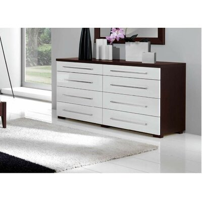 Noci Design 8 Drawer Dresser