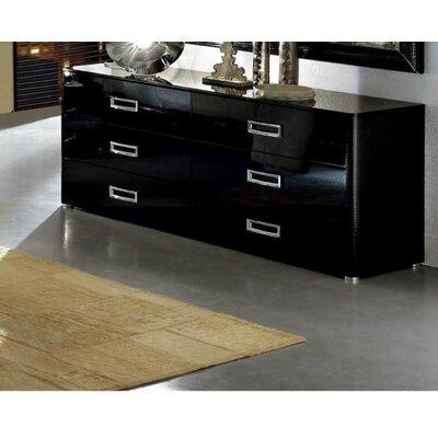 Noci Design 6 Drawer Dresser