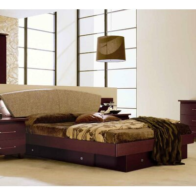 Noci Design Upholstered Panel Bed