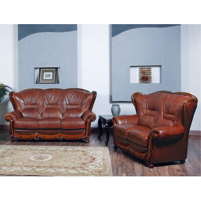 Noci Design 2 Piece Sofa and Loveseat Set