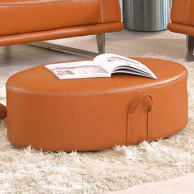 Noci Design Leather Ottoman