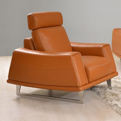 Noci Design Leather Arm Chair