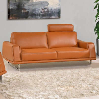 Noci Design Leather Sofa