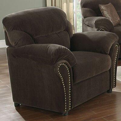A&J Homes Studio Velvet Arm Chair