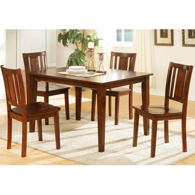 A&J Homes Studio Lena 5 Piece Dining Set