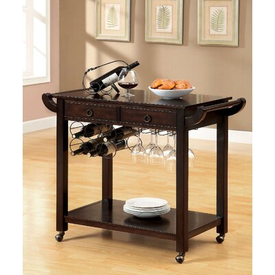 A&J Homes Studio Serving Cart