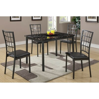 A&J Homes Studio 5 Piece Dining Set