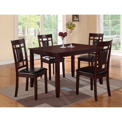 A&J Homes Studio Ana 5 Piece Dining Set