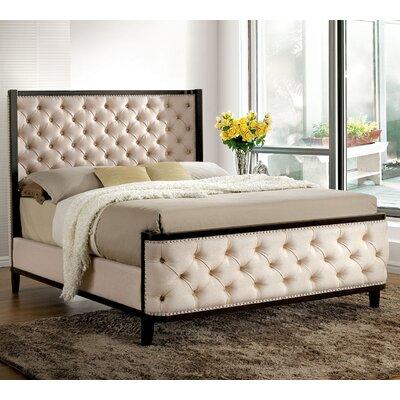A&J Homes Studio Upholstered Panel Bed