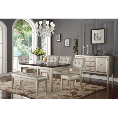 A&J Homes Studio Iris Dining Set