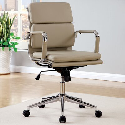 A&J Homes Studio Cancun Mid-Back Office Chair with Arms