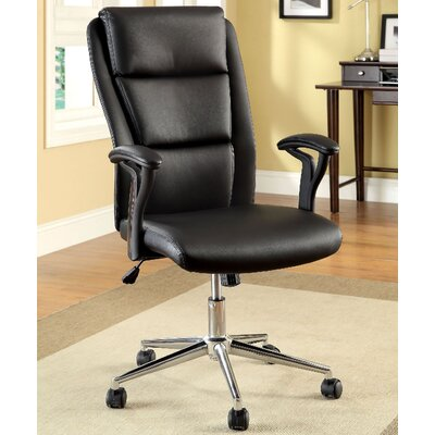 A&J Homes Studio High-Back Office Chair with Arms