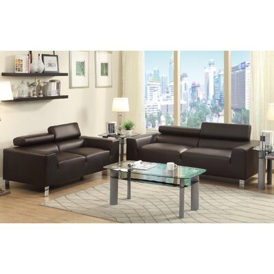A&J Homes Studio Sofa and Loveseat Set
