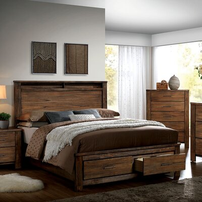 A&J Homes Studio Brookdale Storage Platform Bed