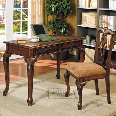 A&J Homes Studio Julia Writing Desk and Chair Set