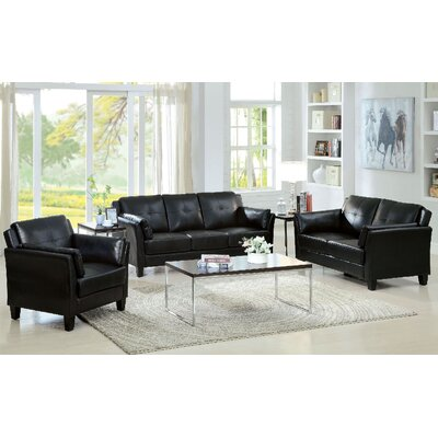 A&J Homes Studio Newport 3 Piece Living Room Set